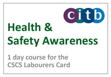 CITB Health and Safety Awareness Course